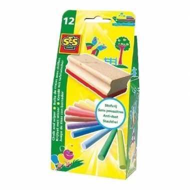 Groothandel krijtset 12 kleuren speelgoed kopen