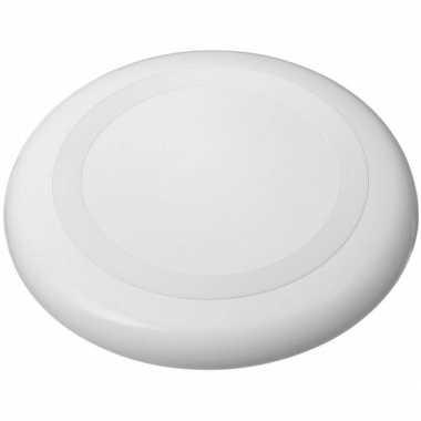 Groothandel kunststof witte frisbees speelgoed
