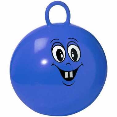 Groothandel lachende blauwe skippybal 45 cm speelgoed voor peuters/kl