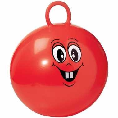 Groothandel lachende rode skippybal 45 cm speelgoed voor peuters/kleu