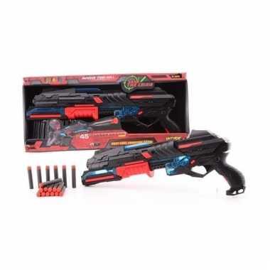 Groothandel large speelgoed pistool met foam kogels 50 cm kopen