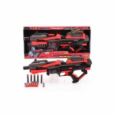 Groothandel large speelgoed pistool met foam kogels 54 cm kopen
