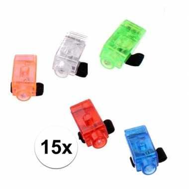 Groothandel led vingerlampjes 15 stuks speelgoed kopen