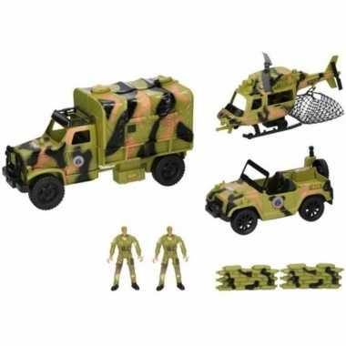 Groothandel leger speelgoed 8 delig kopen