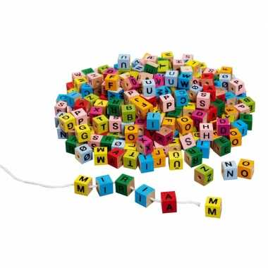 Groothandel letter dobbelsteentjes gekleurd speelgoed
