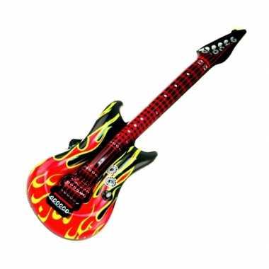 Groothandel lucht gitaar met vlammen 100 cm speelgoed