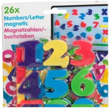 Groothandel magnetische cijfers 26 stuks speelgoed kopen