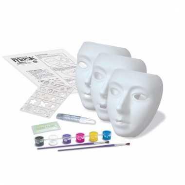 Groothandel maskers schilder setje speelgoed kopen