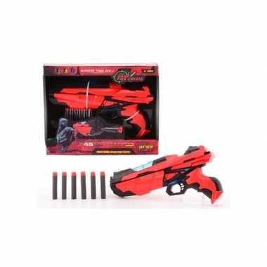 Groothandel medium speelgoed pistool met foam kogels 29 cm kopen
