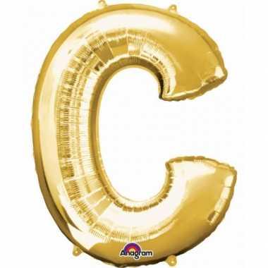 Groothandel mega grote gouden ballon letter c speelgoed kopen