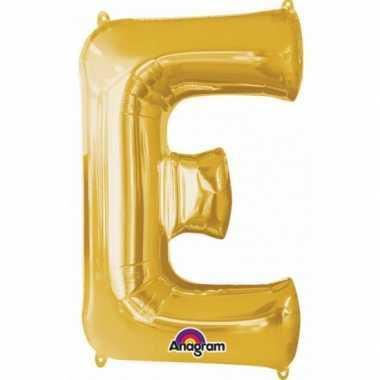 Groothandel mega grote gouden ballon letter e speelgoed kopen
