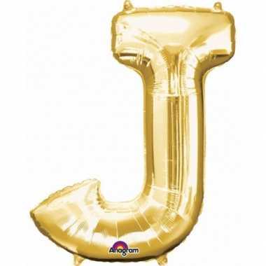 Groothandel mega grote gouden ballon letter j speelgoed kopen
