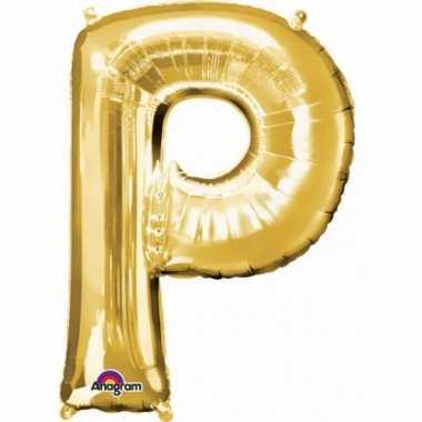 Groothandel mega grote gouden ballon letter p speelgoed kopen