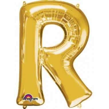 Groothandel mega grote gouden ballon letter r speelgoed kopen