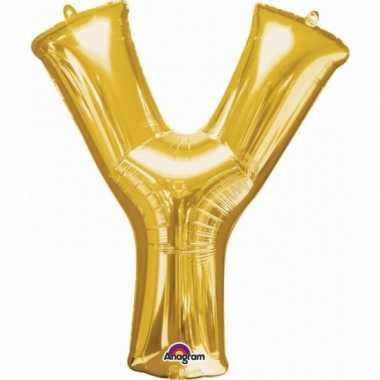 Groothandel mega grote gouden ballon letter y speelgoed kopen