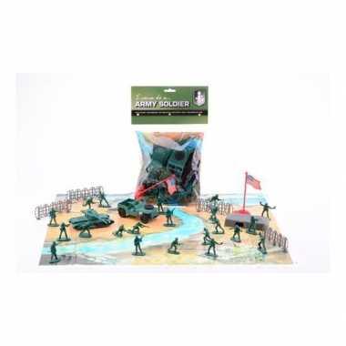 Groothandel militairen speelset en speelmat speelgoed kopen