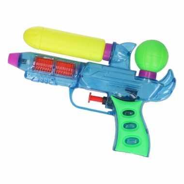 Groothandel mini waterpistolen blauw 18 cm speelgoed kopen