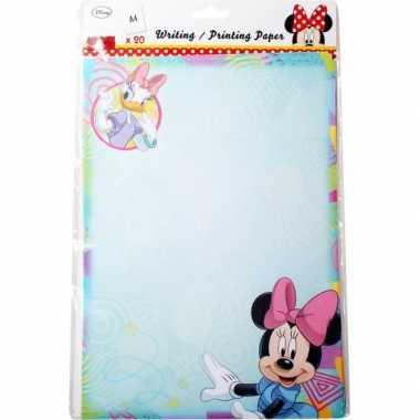 Groothandel minnie mouse a4 papier 20 vellen speelgoed kopen