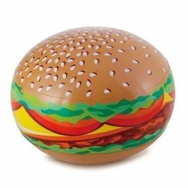 Groothandel opblaadbare hamburger 61 cm waterspeelgoed kopen