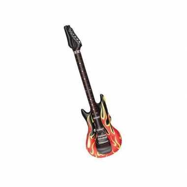 Groothandel opblaas elektrische gitaar speelgoed kopen