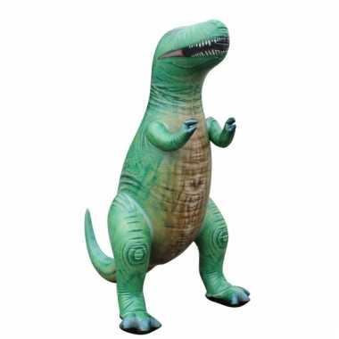 Groothandel opblaas t rex dino groen 152 cm speelgoed
