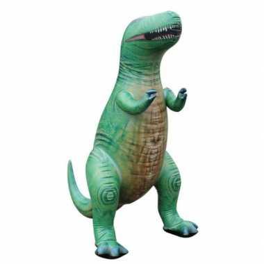 Groothandel opblaas t rex dino groen 94 cm speelgoed