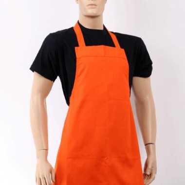 Groothandel oranje barbecue keukenschort speelgoed