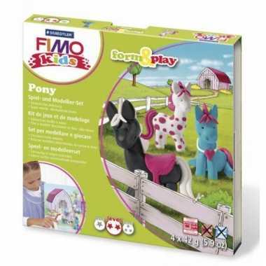 Groothandel oven verhardende klei pakket pony speelgoed kopen