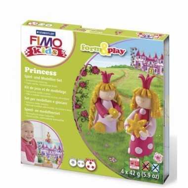 Groothandel oven verhardende klei pakket prinsessen speelgoed