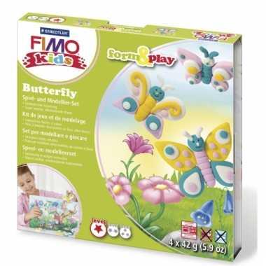 Groothandel oven verhardende klei pakket vlinder speelgoed kopen