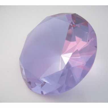 Groothandel  Paarse decoratie diamanten 10 cm speelgoed kopen