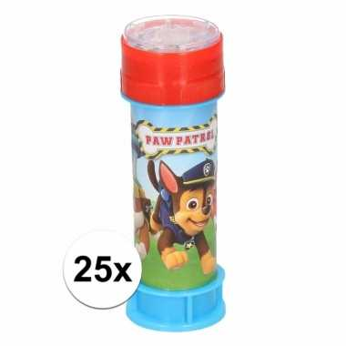 Groothandel paw patrol bellenblaas 25 stuks speelgoed kopen