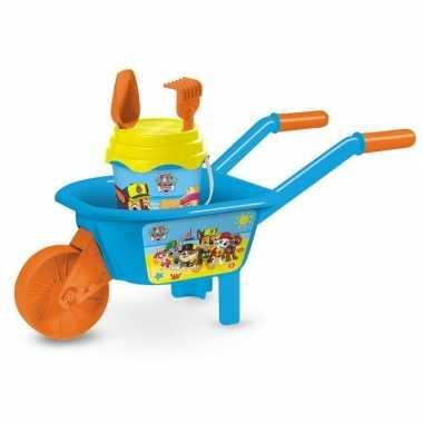 Groothandel paw patrol speelgoed kruiwagen zandbak setje 65 cm kopen