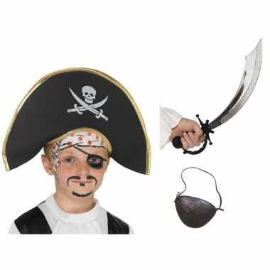 Groothandel piraten verkleed accessoires jongens en meisjes speelgoed