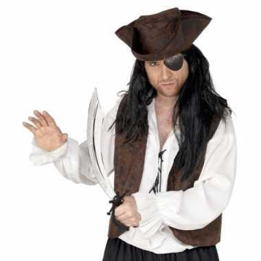 Groothandel piraten verkleed accessoires ooglap en zwaard speelgoed k