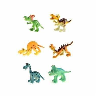Groothandel plastic dino s 6 stuks speelgoed