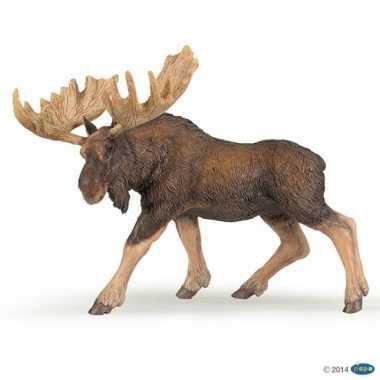 Groothandel plastic eland speeldiertje 14 cm speelgoed kopen