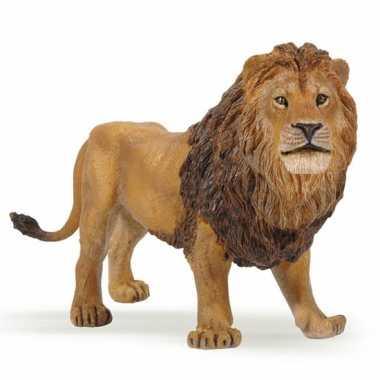 Groothandel plastic leeuw speeldiertje 14 cm speelgoed kopen