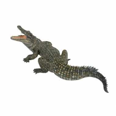 Groothandel plastic nijl krokodil speeldiertje 21 cm speelgoed kopen