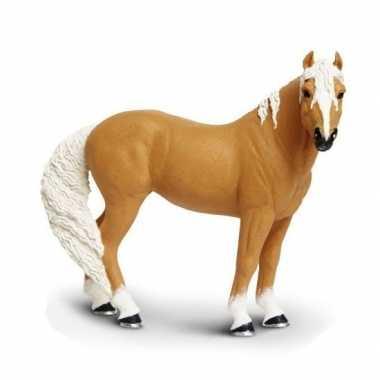 Groothandel plastic palomino paard speelgoed figuur 12 cm kopen