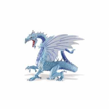 Groothandel plastic speelgoed blauwe draak 15 cm kopen
