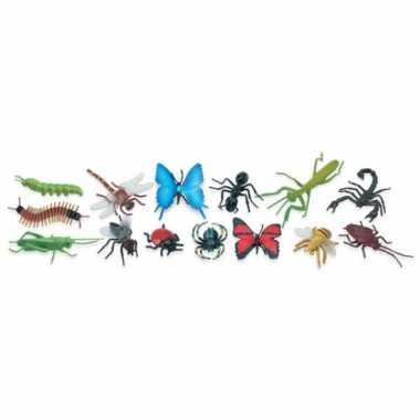Groothandel plastic speelgoed insecten dieren 14 stuks kopen