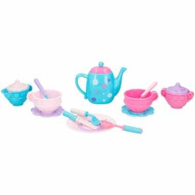 Groothandel plastic speelgoed theevisiteset 16-delig type 1 kopen