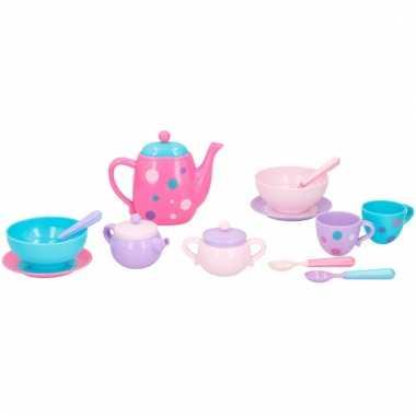 Groothandel plastic speelgoed theevisiteset 16-delig type 2 kopen
