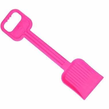 Groothandel plastic speelgoedschep 54 cm fuchsia roze voor meisjes ko