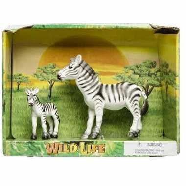 Groothandel plastic zebra met veulen speelgoed voor kinderen kopen