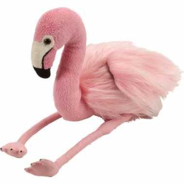 Groothandel pluche flamingo 30 cm speelgoed kopen
