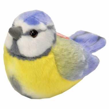 Groothandel pluche pimpelmees vogel 14 cm speelgoed kopen