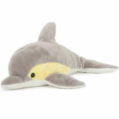Groothandel pluche speelgoed dolfijn knuffeldier 33 cm