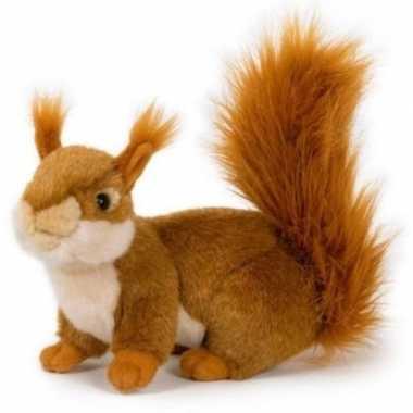 Groothandel pluche speelgoed eekhoorn knuffeldier 20 cm kopen
